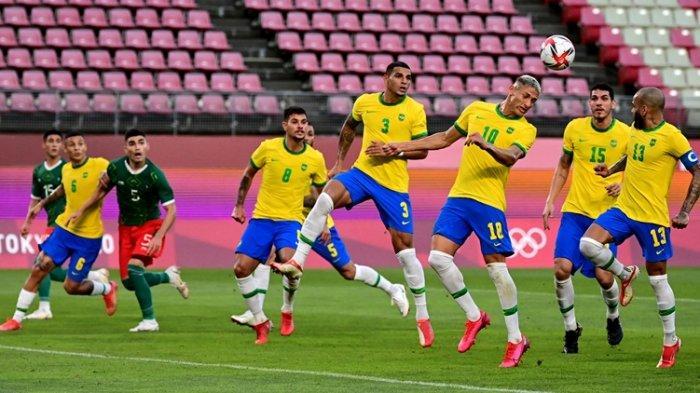Brasil Vs Spanyol di Final Sepakbola Olimpiade Tokyo 2020, Akankah Tim Samba Pertahankan Medali