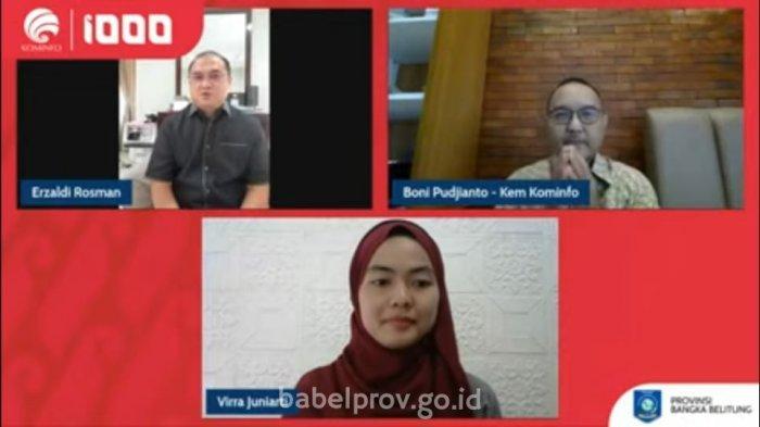 Gubernur Bangka Belitung Ajak Generasi Muda Menjadi Entrepreneur di Era Digital