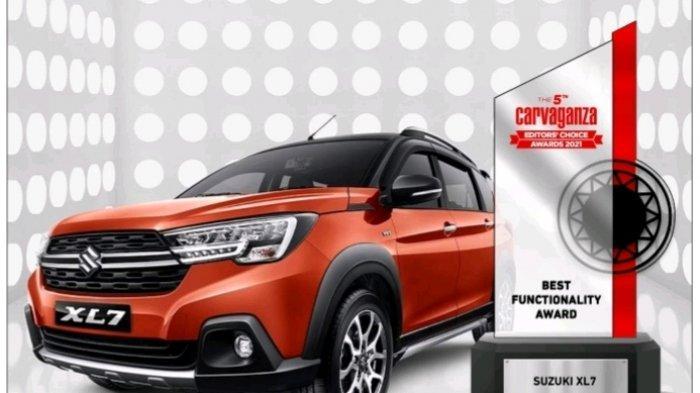 Suzuki XL7 Menangkan Best Functionality Award di Carvaganza Editor's Choice