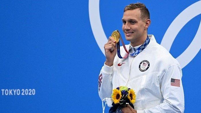 Inilah Caelab Dressel, Atlet Peraih Emas Terbanyak Selama Olimpiade Tokyo 2020