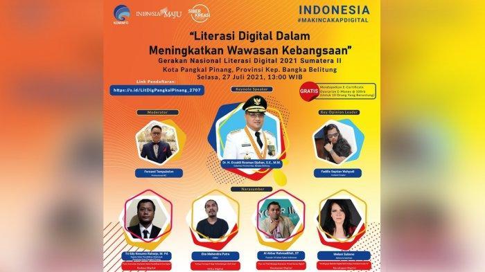 Literasi Digital Kota Pangkalpinang Bahas Pentingnya Digitalisasi Sekolah