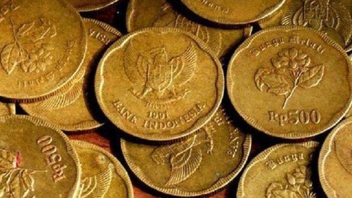 Uang Koin Rp 500 Dihargai Rp 100 Juta, Dianggap Terbuat dari Emas hingga Banyak Dipakai Cincin