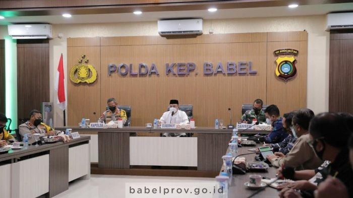 Forkopimda Bangka Belitung Persiapkan Kedatangan Panglima TNI dan Kapolri