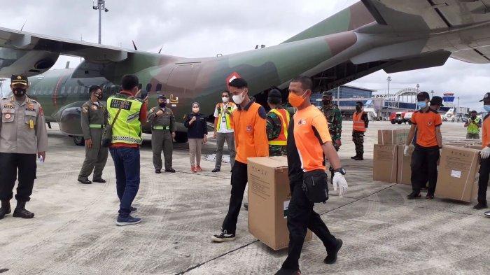 Bantu Penanganan Covid-19 di Bangka Belitung, Panglima TNI Kembali Kirimkan 50 Konsentrator Oksigen