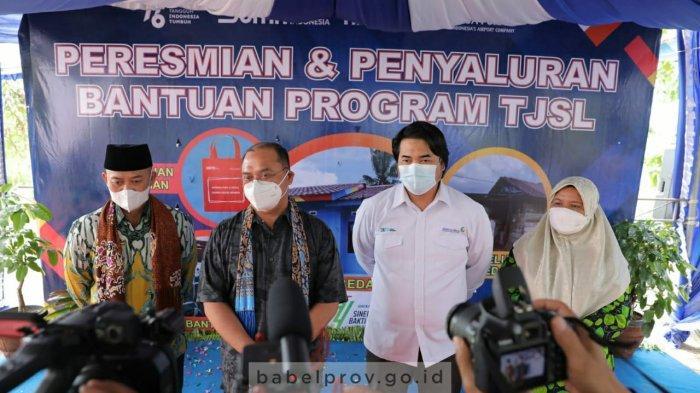 Program TJSL PT Angkasa Pura II, Wujud Sinergitas dengan Pemerintah Daerah Babel