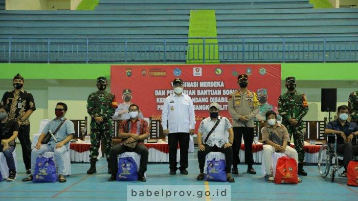 Usai Divaksin, 300 Penyandang Disabilitas di Bangka Belitung Dapat Bantuan Sosial