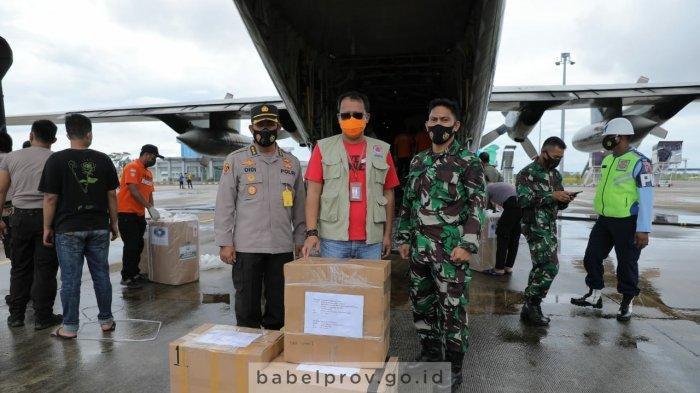 Satu Hari Setelah Gubernur Bangka Belitung Ditelpon Jokowi, Hari Ini Bantuan dari Presiden Tiba