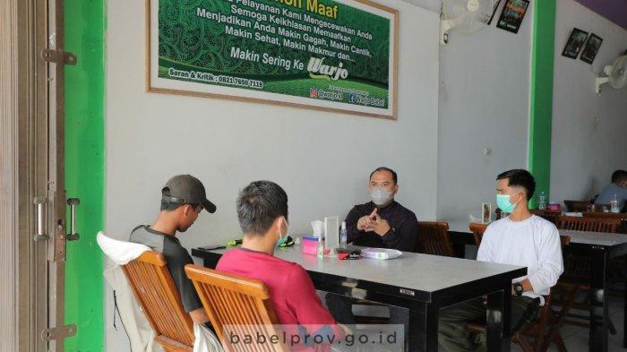 Diskusi Ala Warkop, Gubernur Bangka Belitung Bersama Mahasiswa, Ini Topik yang Dibahas