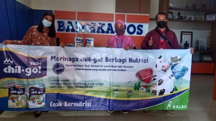 Gerakan Morinaga Chil*Go! Berbagi Nutrisi untuk Bangka Pos