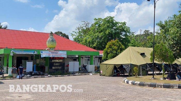 43 Pasien Covid-19 Masih Dirawat di RSUD Bangka Selatan, 14 Bed Disiagakan di Tenda Darurat