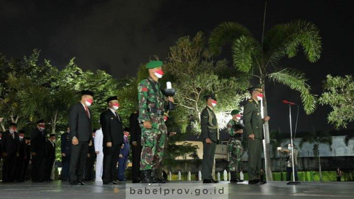 Gubernur dan Forkopimda Babel Gelar Malam Renungan Suci di TMP Pawitralaya