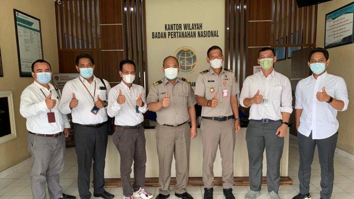 PT PLN (Persero) melalui Unit Induk Pembangunan Sumatera Bagian Selatan (UIP SBS) yang berkedudukan di Palembang dan Unit Induk Wilayah Bangka Belitung (UIW Babel) melaksanakan kunjungan audiensi di Kantor ATR/BPN Wilayah Bangka Belitung,Senin (16/8).