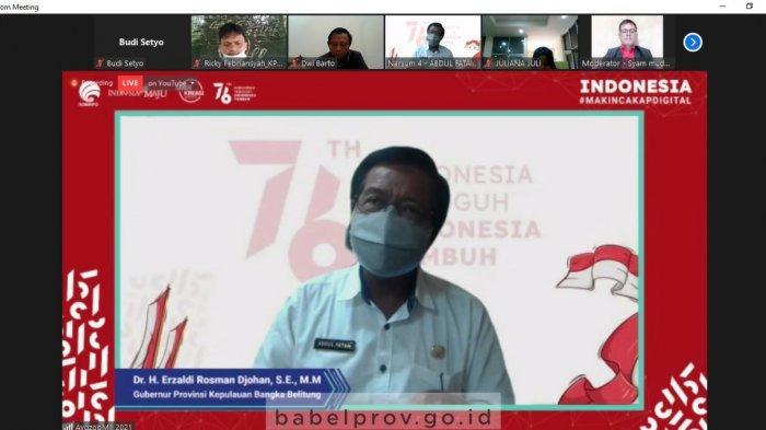Wagub Bangka Belitung: Etika Berjejaring 'Jarimu adalah Harimaumu'
