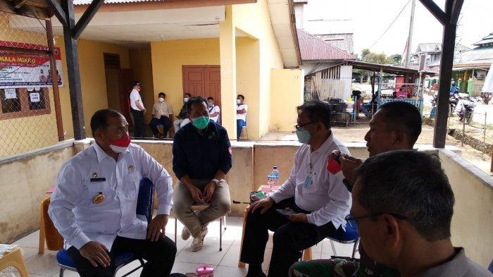 Gubernur Bangka Belitung Tinjau Pelayanan Vaksinasi Covid-19 di Lepar