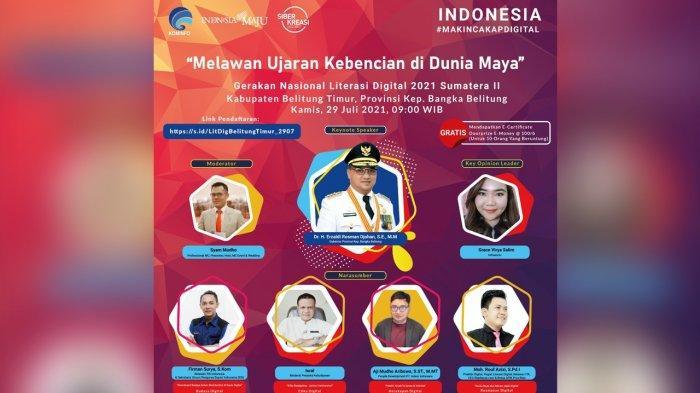 Literasi Digital Belitung Timur Ajak Peserta Pahami Budaya Dalam Interaksi Digital
