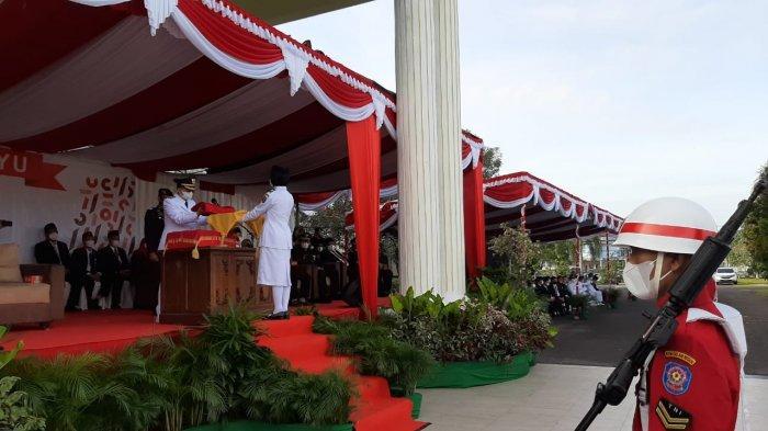 Peringatan HUT ke-76 Kemerdekaan Republik Indonesia, Algafry Ajak Masyarakat Bangka Tengah Semangat