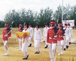 Upacara HUT Ke-76 Republik Indonesia di Kabupaten Bangka Barat Menjadi Momentum Perlawanan Covid-19