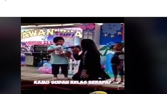Viral  Video Pembawa Acara Ajak Bocah Eja Kata Balon, Jawabannya Bikin Netizen Terpingkal-pingkal