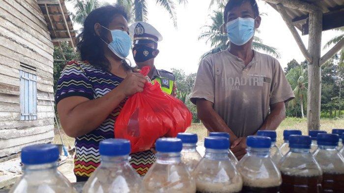 Dampak Pendemi Covid 19 Warga Keluhkan Penurunan Ekonomi ke Anggota Satlantas Polres Bangka