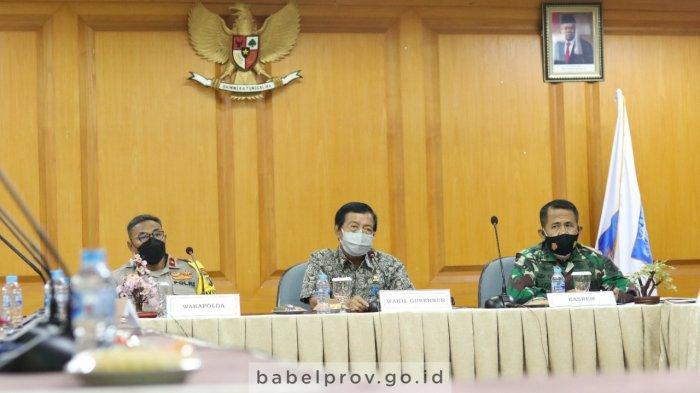 Sinergitas Lima Elemen Subsatgas Pacu Percepatan Penanganan Covid-19 di Bangka Belitung