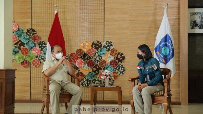 Gubernur Bangka Belitung Berterima Kasih Bantauan KRI Semarang-594 Salurkan Oksigen
