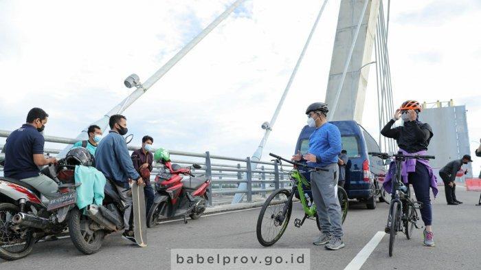 Gubernur Bangka Belitung Pilih Bersepeda, Pilihan Olahraga agar Semakin Dekat dengan Masyarakat