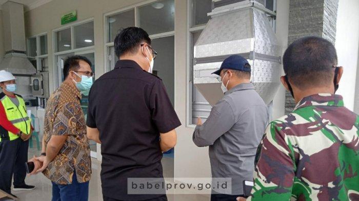 Gubernur Erzaldi Minta Percepat Sertifikasi Laboratorium PCR di RSUD H Marsidi Judono