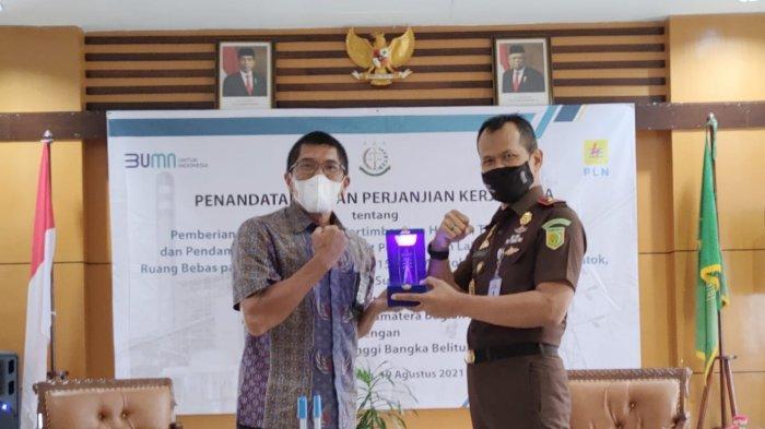 PT PLN (Persero) UIP Sumbagsel Perkuat Sinergi dengan Kejaksaan Tinggi Provinsi Bangka Belitung
