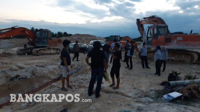 Lokasi IUP PT Timah Tbk Dijarah Penambang Ilegal, Tim Amankan 21 Kampil Pasir Timah