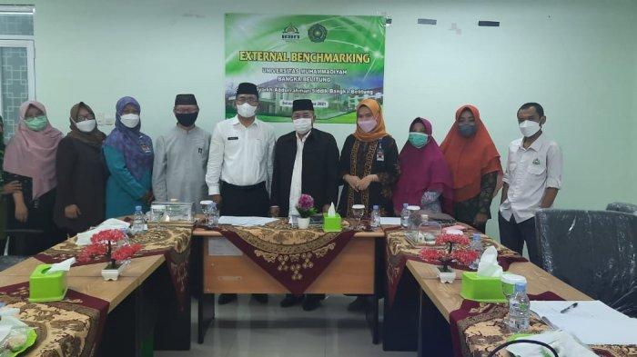 IAIN SAS Babel Menerima Kunjungan Tim Benchmarking LPM Universitas Muhammadiyah Bangka Belitung