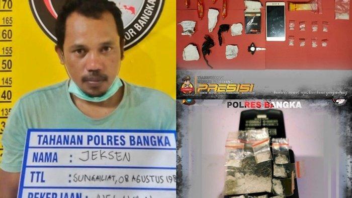 Pengedar Narkoba Dibekuk di Kampung Nelayan, Sembunyikan 7 Paket Sabu di Kotak Rokok