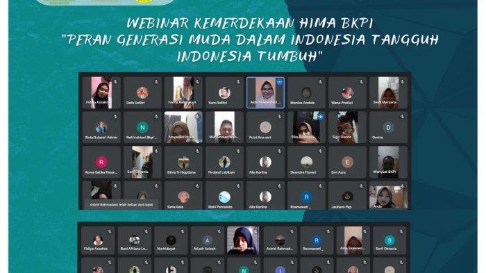 Semarakkan Bulan Kemerdekaan RI, Hima Prodi BKPI IAIN SAS Babel Sukses Gelar Webinar