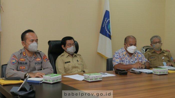 Pemprov Bangka Belitung Dorong Pembentukan Satgassus Covid-19 di Tingkat Kabupaten/Kota