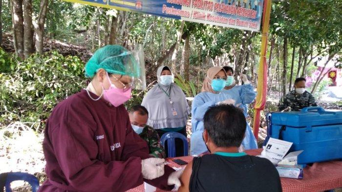 Dinkes Babel Percepat Herd Immunity, 354 Warga di Desa Rebo Sudah Disuntik Vaksin