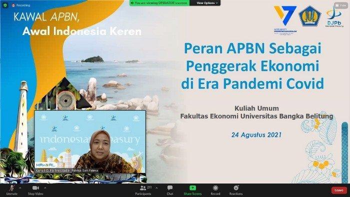 Fahma:  APBN Alat Utama Dalam Penanganan Pandemi Covid 19