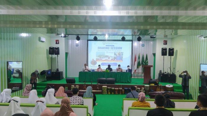 LEMBAGA Kursus dan Pelatihan Abdi Negara Cendekia bersama dengan Tim Bangka Selatan Hame-hame Bergerak (Baher) menggelar Sharing Session Beasiswa dan Kuliah Luar Negeri bagi peserta didik di Kabupaten Bangka Selatan.Rabu (25/8)