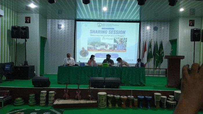 ANC dan Tim Baher Sharing Session Beasiswa di Bangka Selatan, Jangan Takut Kuliah di Luar Negeri