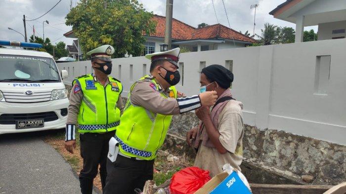 Pemulung, Tukang Parkir dan Pedagang Kecil Dicari Polisi, Satlantas Polres Bangka Dikerahkan