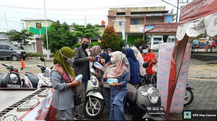 Sambut Kemerdekaan RI, Honda ASP Pangkalpinang Gelar Servis Murah dan Bagi Masker