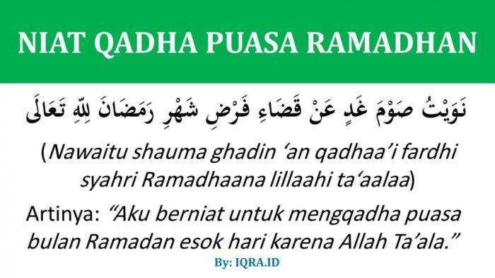 Boleh Puasa Qadha Sekaligus Puasa Senin Kamis, Ini Penjelasan Ustadz Abdul Somad dan Bacaan Niatnya