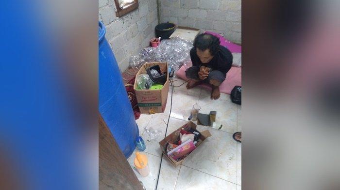 Sempat Kaburi, Residivis Ini Berhasil Dibekuk Sat Narkoba Polres Bangka Tengah, Simpan 0,3 gram Sabu