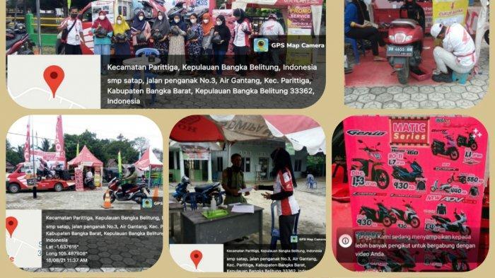 TDM Jebus, Servis Kunjung Ekonomis Join Instansi di Desa Airgantang Kecamatan Parittiga