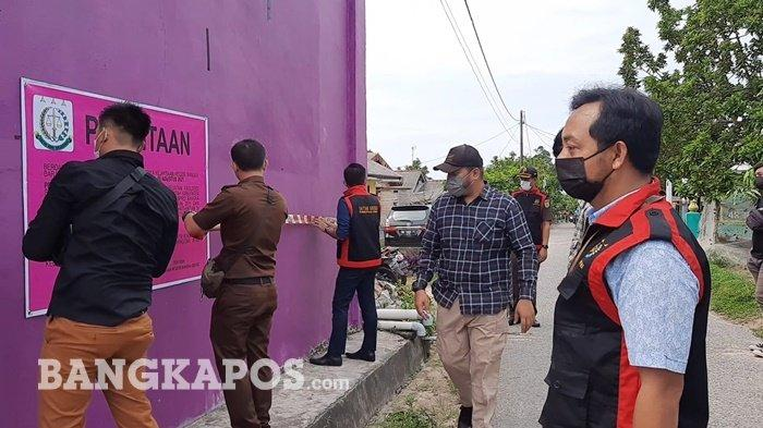2 Unit Rumah Kurniatiyah Hanom Terpidana Korupsi PT BPRS Disita Penyidik Pidsus Kejari Bangka Barat