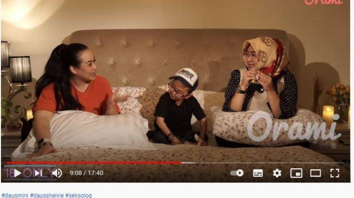 Daus Mini dan Istrinya di Youtube Orami Indonesia