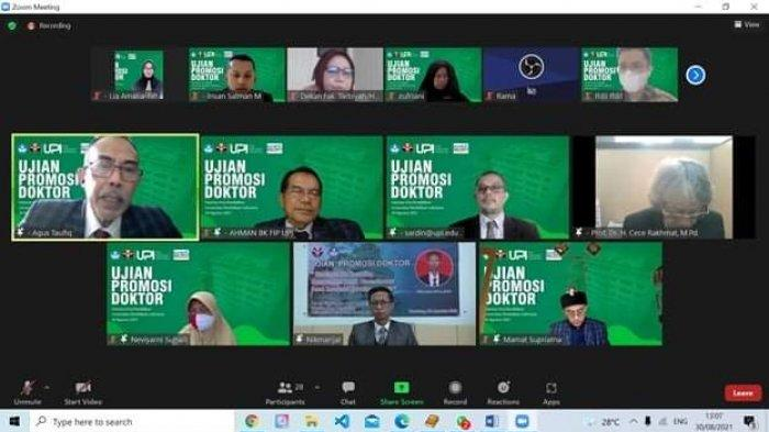 Dosen BK IAIN SAS Babel, Nikmarijal Raih Gelar Doktor di UPI Bandung