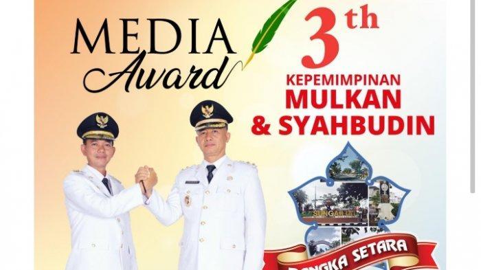 Ada Bonus Tambahan untuk Kategori Jurnalis, Media Awards 3th Kepemimpinan Mulkan-Syahbudin