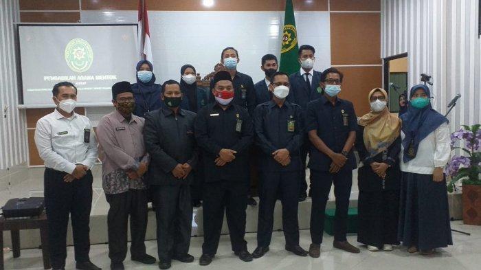 Pengadilan Agama Mentok Gelar Perpisahan Mahasiswa PKL IAIN SAS Babel