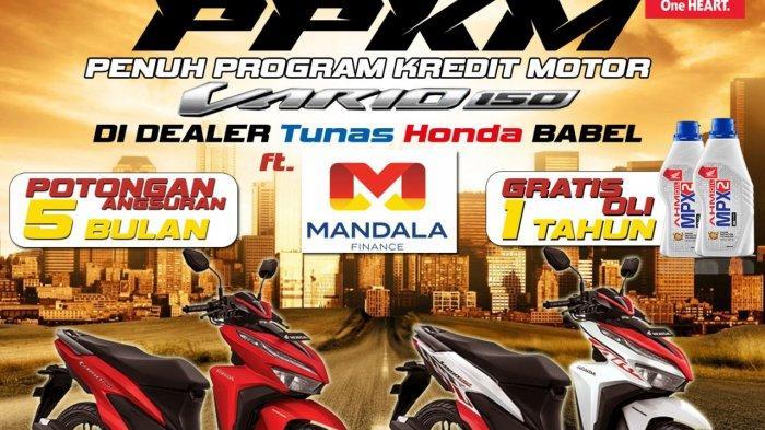 Honda TDM Payung Bikin Program Kredit Motor (PPKM)