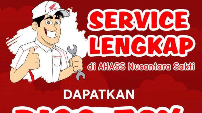 Gebyar Kemerdekaan Servis Lengkap Diskon 76% Pembelian Sparepart Hanya di AHASS NSS Pangkalpinang