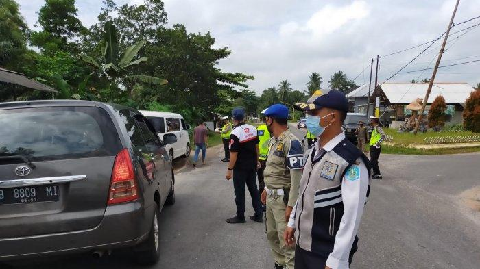 Cegah Penularan Covid-19, Tim Gabungan Lakukan Penyekatan di Sejumlah Ruas Jalan hingga 6 September